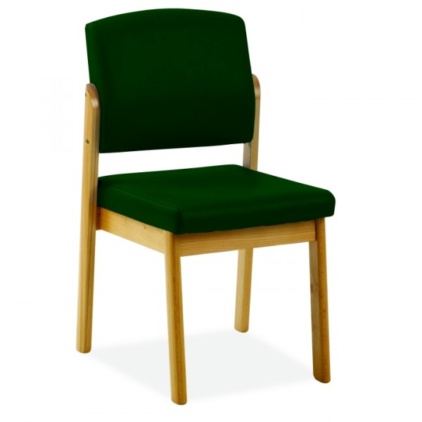HAMILK2038  Stacking  Armless Chair