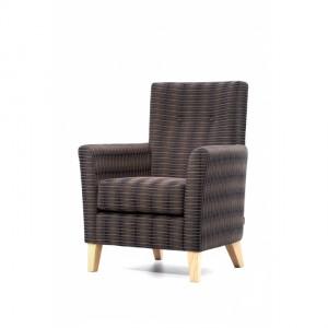 Jasmine Mid Back Chair JASMINK0825 Side