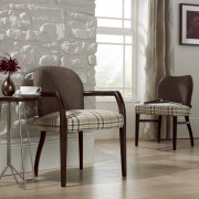 Maddie Upright Open Armchair