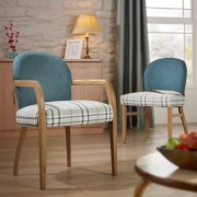 Maddie Upright Open Armchair 2