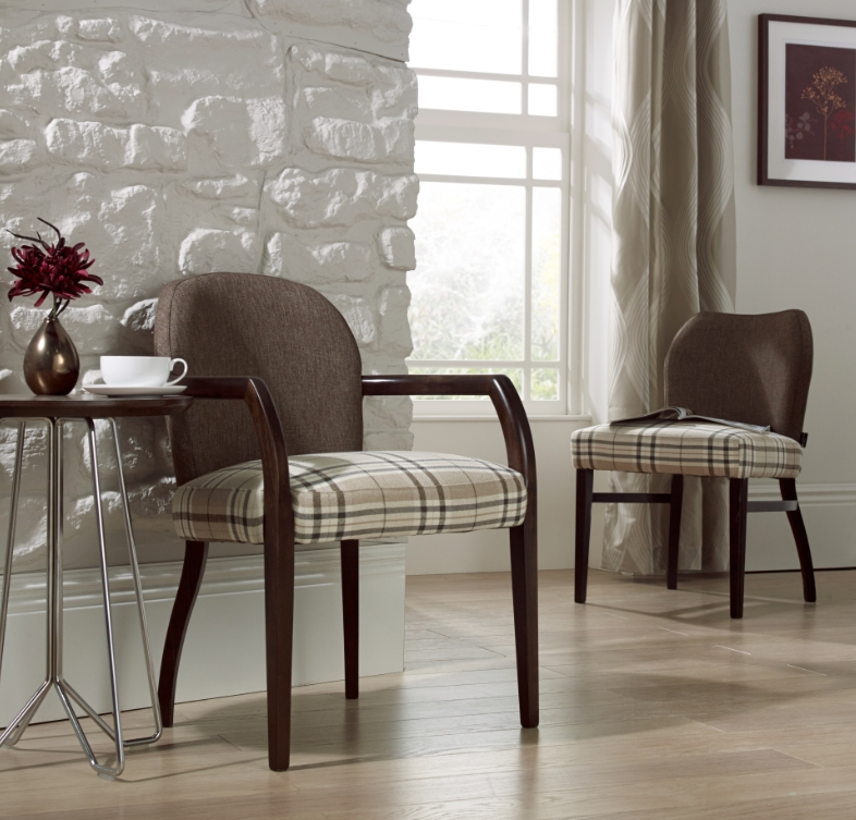Maddie Upright Open Armchair | Knightsbridge Furniture