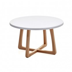 Slide Circular Coffee Table with Kydex Top