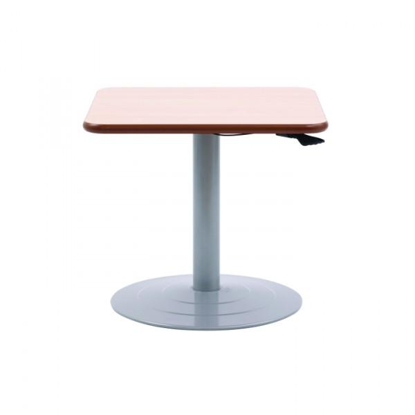 Windsor Adjustable Pedestal Square Table Knightsbridge