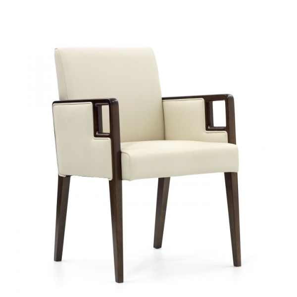 Mondrian Upright Armchair with Filled in Sides K6214