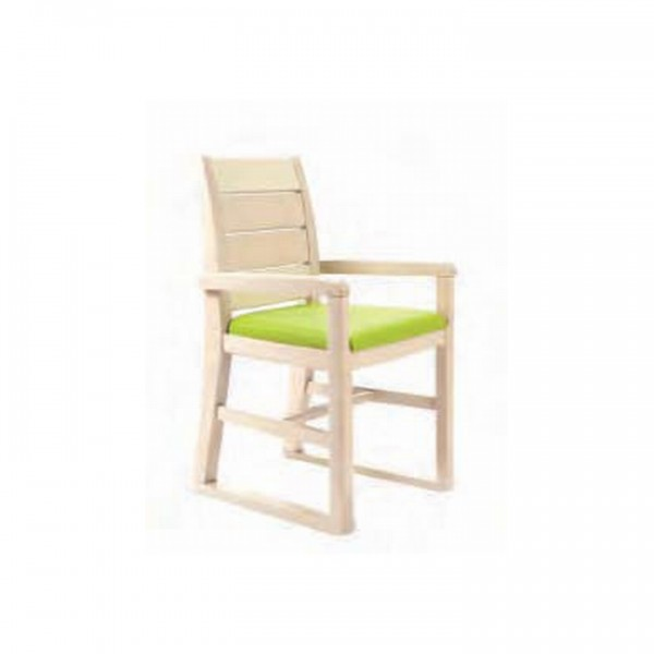Ascot Armchair with Skids