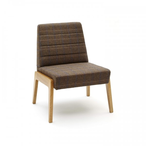 GoGo Armless Mid Back Lounge Chair 1