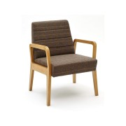 GoGo Armed Mid Back Lounge Chair 1