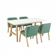 Alfie Dining Chairs and Table