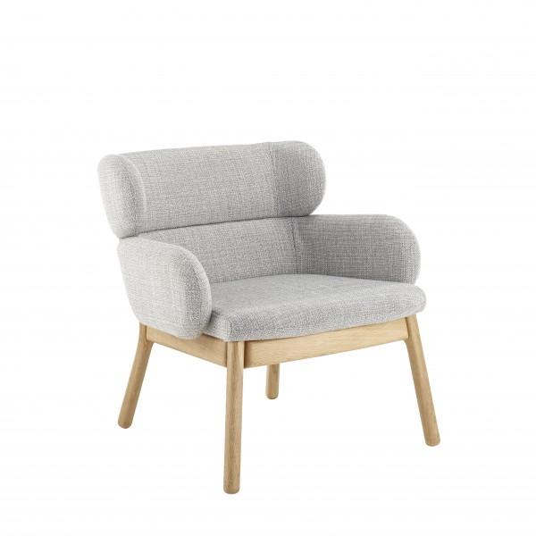 Dizzi Lounge OakLeg Chair-1