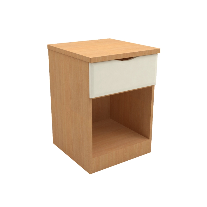 SCOTIC2601X U2013 Scotia Extreme One Drawer Open Bedside Cabinet
