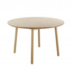 Bebop Circular Dining Table Oak-1