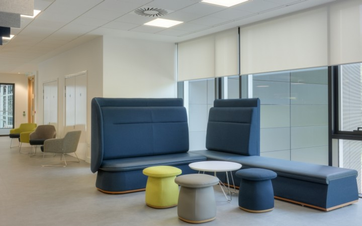 Knightsbridge Furniture Creates a Dynamic Learning Environment for new University of West Scotland Campus