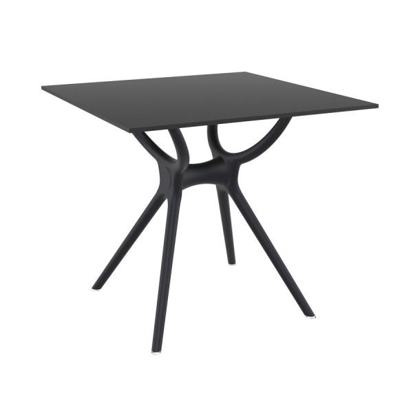 Malibu Square Dining Table MALIBK9052 Black