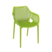 Malibu Upright Stacking Armchair MALIBK9012 Green