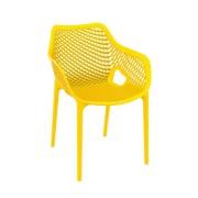 Malibu Upright Stacking Armchair MALIBK9012 Yellow