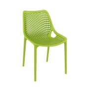 Malibu Upright Stacking Armless Chair MALIBK9011 Green