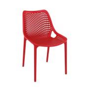 Malibu Upright Stacking Armless Chair MALIBK9011 Red