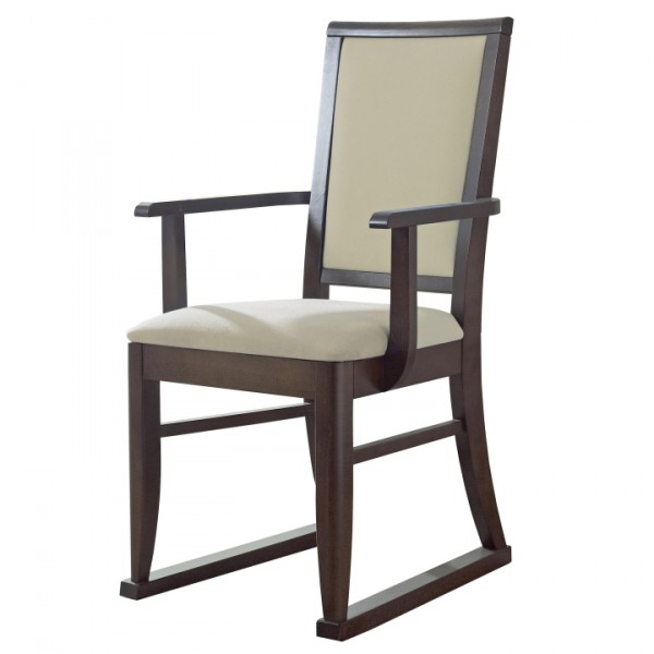 Henley Upright Armchair with Skids