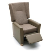 Jasmine Winged Recliner Side