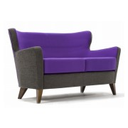 Jenny Low Back 2 Seater Sofa Side