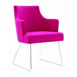 Sorrento Upright Armchair with Wire Base K6114