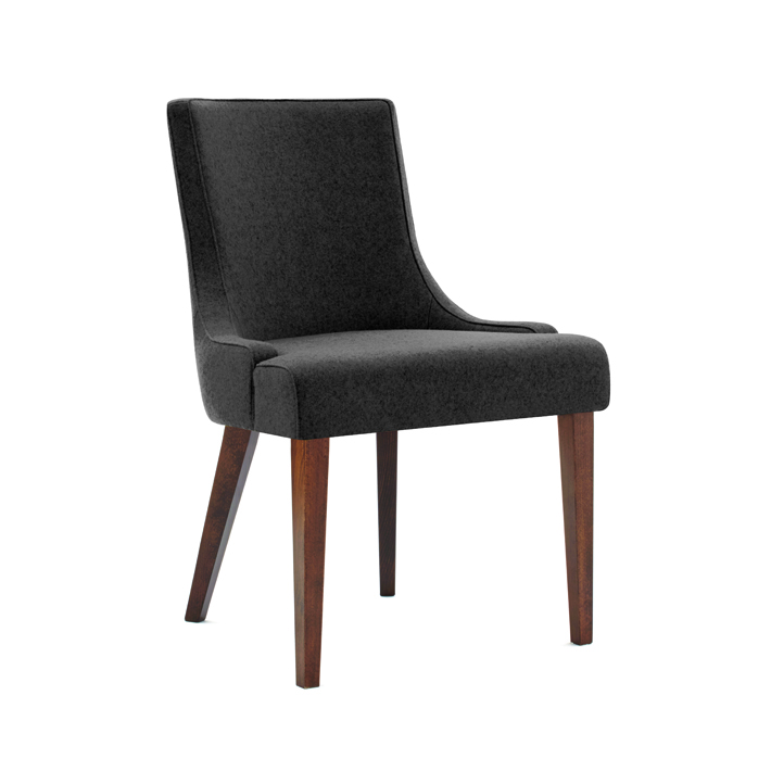 Sorrento Upright Armless Chair Knightsbridge Furniture