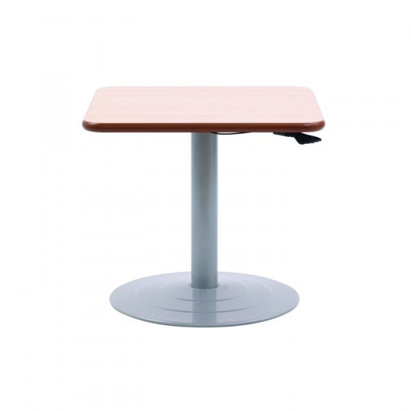 Windsor Adjustable Pedestal Square Table, WINDSK0051