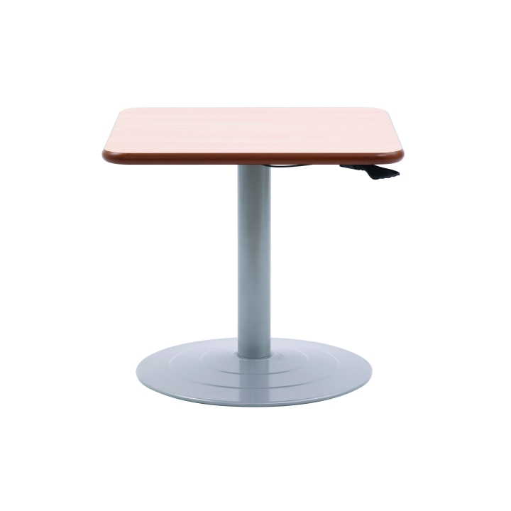 Windsor Adjustable Pedestal Square Table Knightsbridge