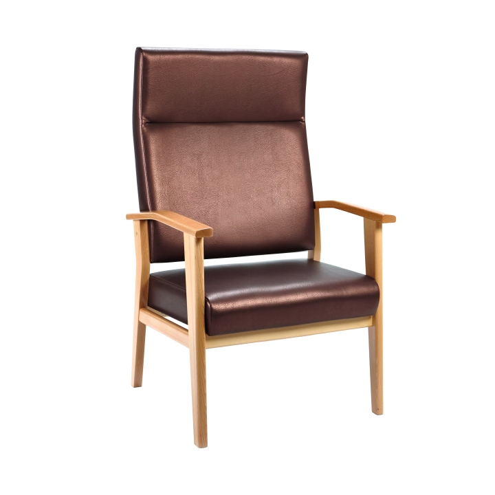 Memphis Furniture Company: Memphis High Back Chair