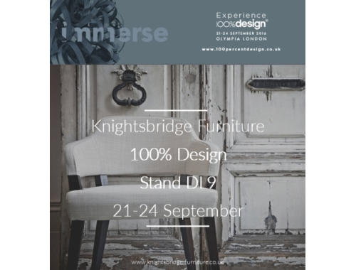 Knightsbridge Showcase Workplace Collections at 100% Design