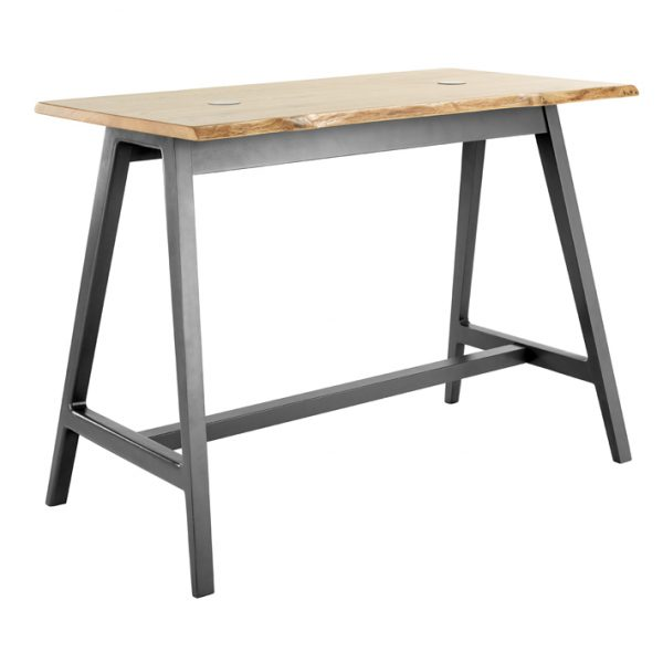 Alfie High Table Graphite Painted Frame