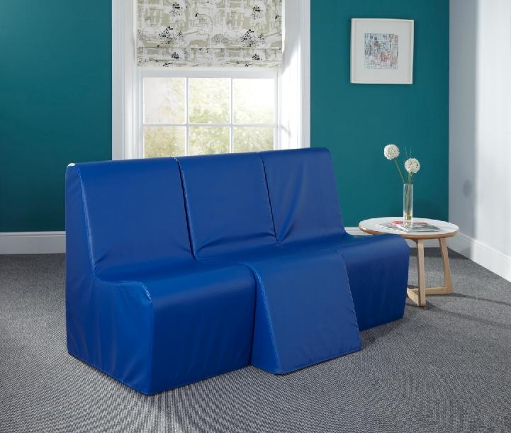 Baseline De-Escalation 3 Seat Unit With Detachable Seat