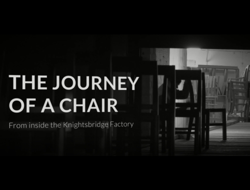 THE JOURNEY OF A CHAIR: From Inside the Knightsbridge Factory