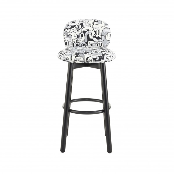 Bebop Stool-BW-Back-3