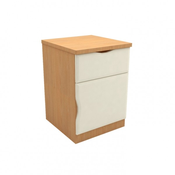 SCOTIC2602LX – Scotia Extreme One Drawer One Bedside Cabinet