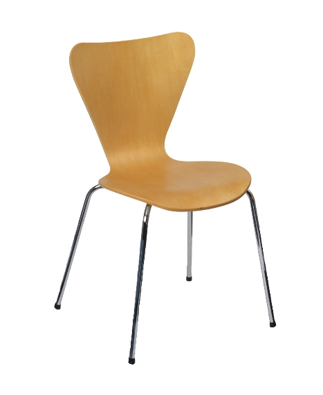 Milan Upright Stacking Armless Chair MILANK9211