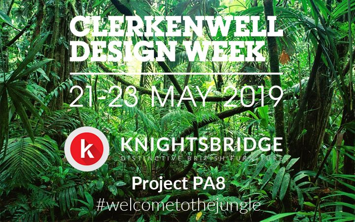 Knightsbridge Show Their Wild Side During Clerkenwell Design Week 2019