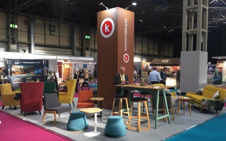 Knightsbridge's Furniture Portfolio Showcased at The Care Show 2019