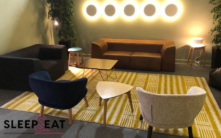 Mid Century Modern and Social FlexAbility at Sleep and Eat 2019